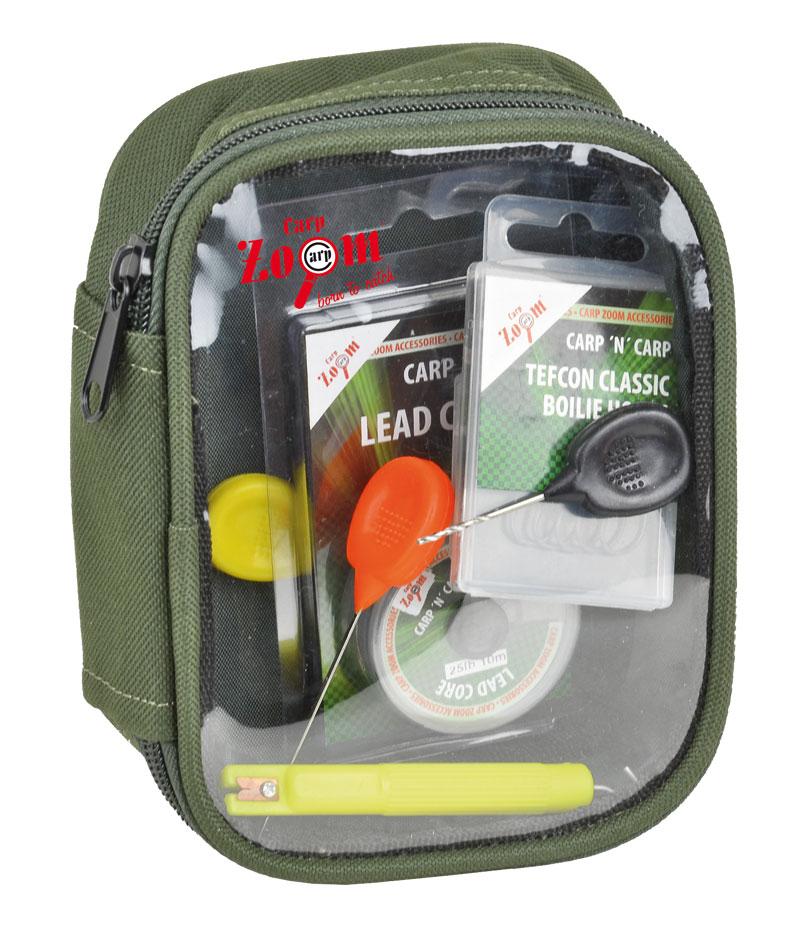 Carp Zoom Taška na drobnosti s priehľadným vrchom XL - 31x21x8cm