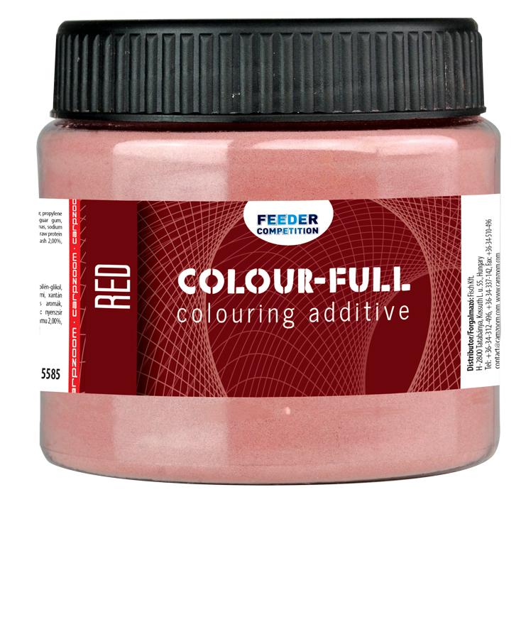 Carp Zoom Colour-Full farbivo - červené