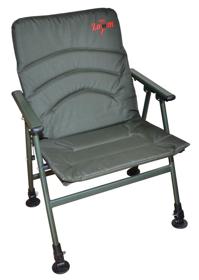 Carp Zoom Easy Comfort Armchair - Easy Komfortná rybárska stolička s opierkami