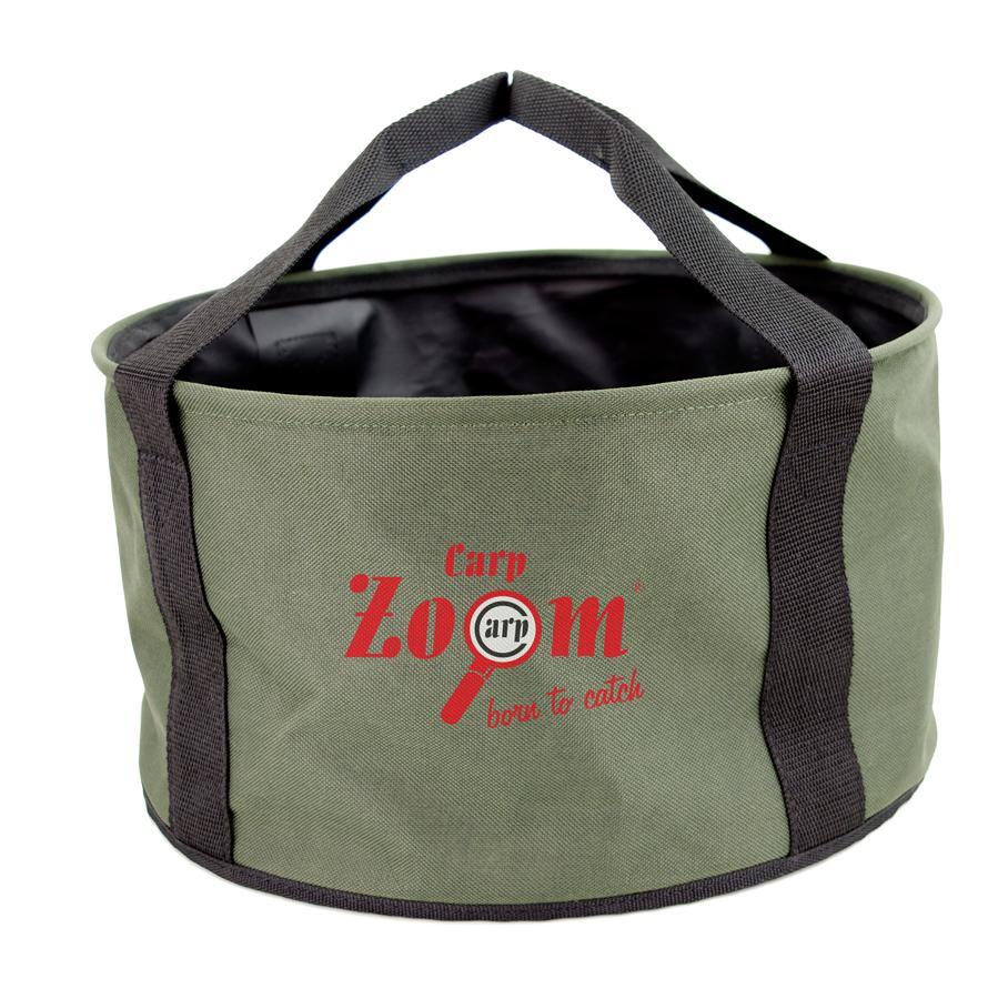 Carp Zoom Foldable Groundbait Bucket - Skladacia nádoba na miešanie krmiva