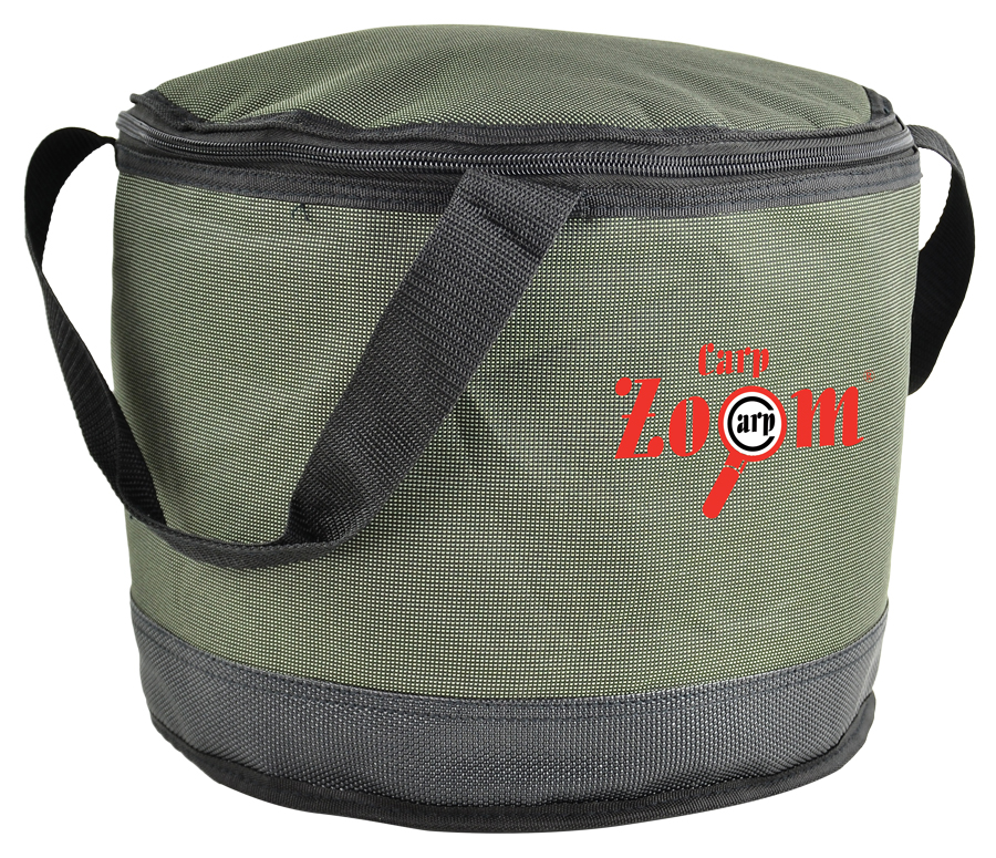 Carp Zoom Collapsible Bait Bucket, insulated - termo