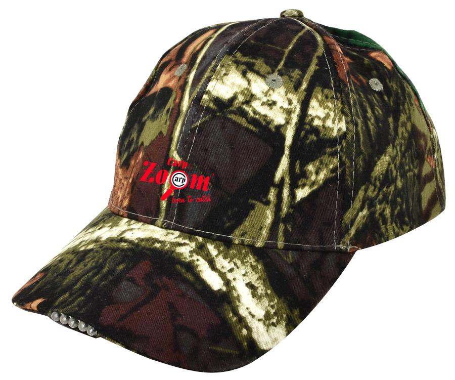 Carp Zoom Camou 5 diódová čiapka
