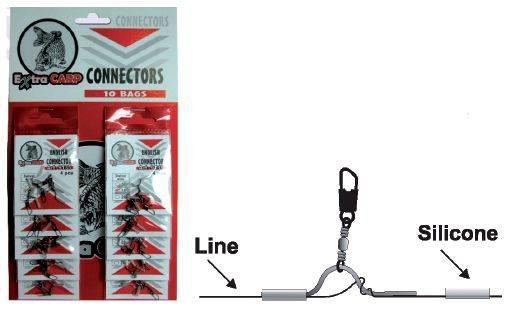 Extra Carp Konektor na anglický plavák - 4ks