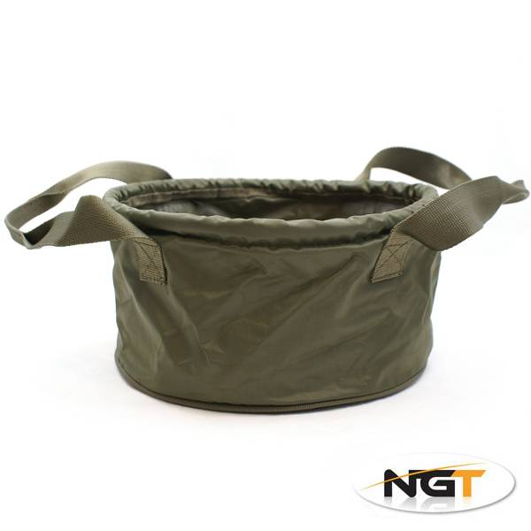 NGT Tackle Deluxe Groundbait Bowl With Handles