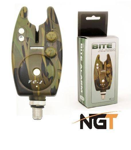 NGT Tackle Hlásič Camo Bite Alarm VC-2