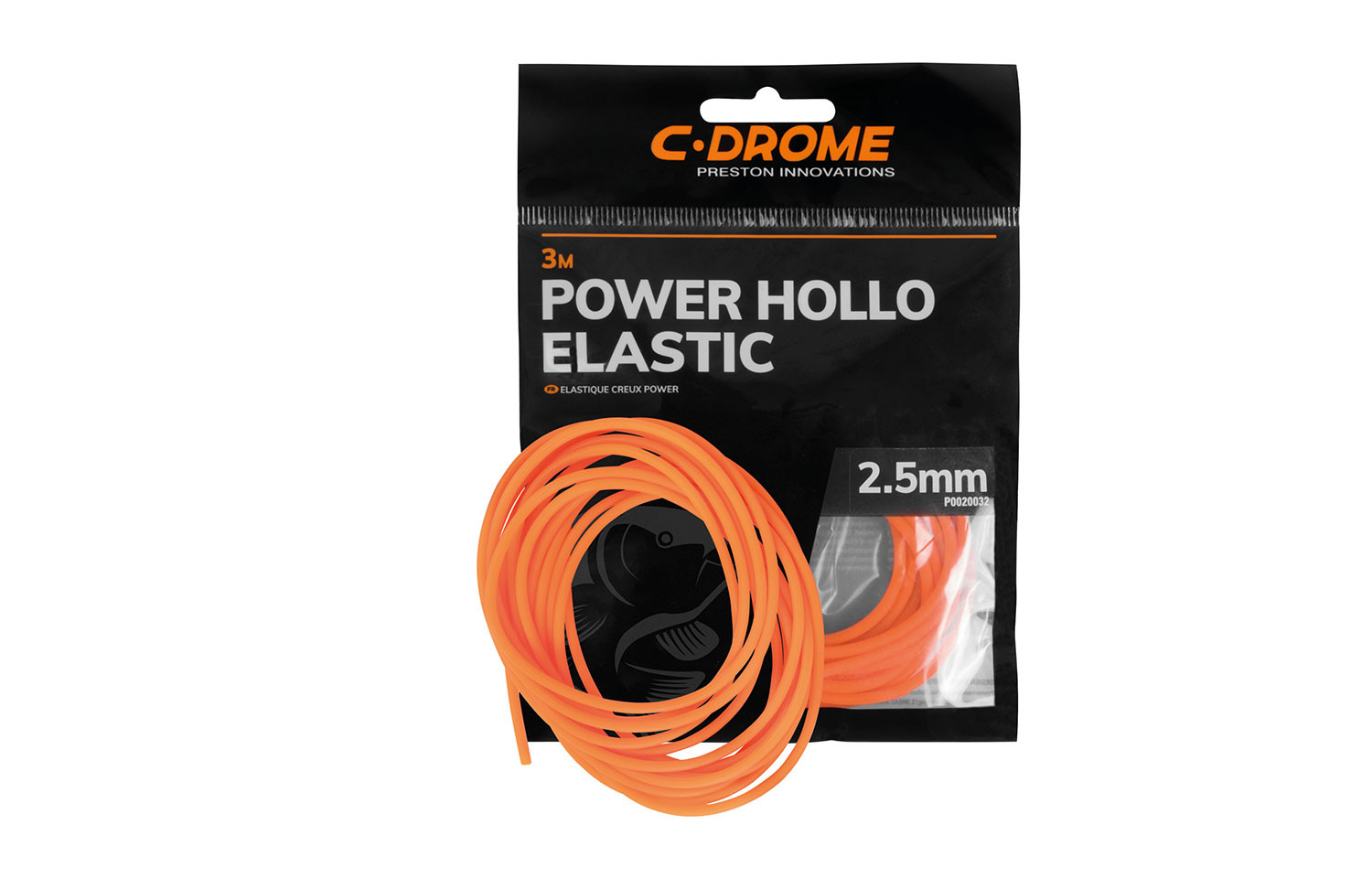 Preston C-drome POWER HOLLO ELASTIC 3m 2,5mm