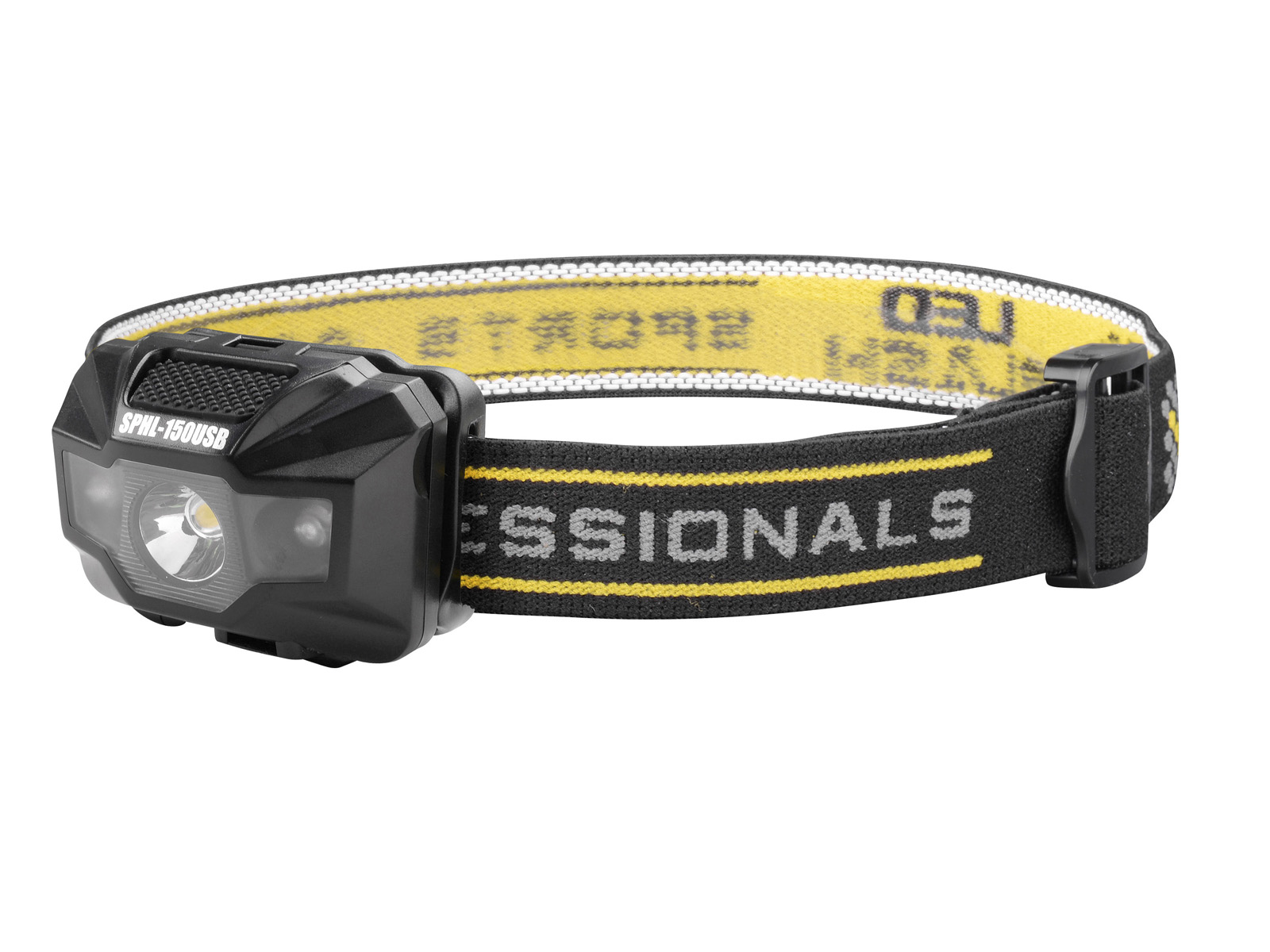SPRO USB Rechargeable LED Head Lamp SPHL150USB