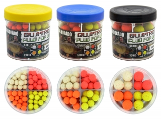 Haldorádó Quatro Fluo Pop Up Boilies 8 mm