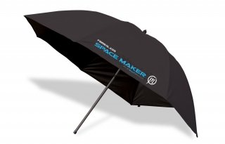 Preston Space Maker flat black brolly