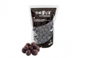 THE BLACK ONE Soluble boilies 1kg 22mm