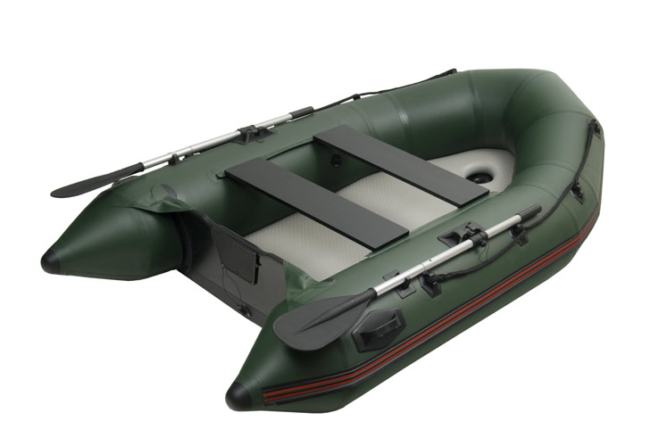 Mivardi M-Boat 270 - pevná nafukovacia podlaha + kýl